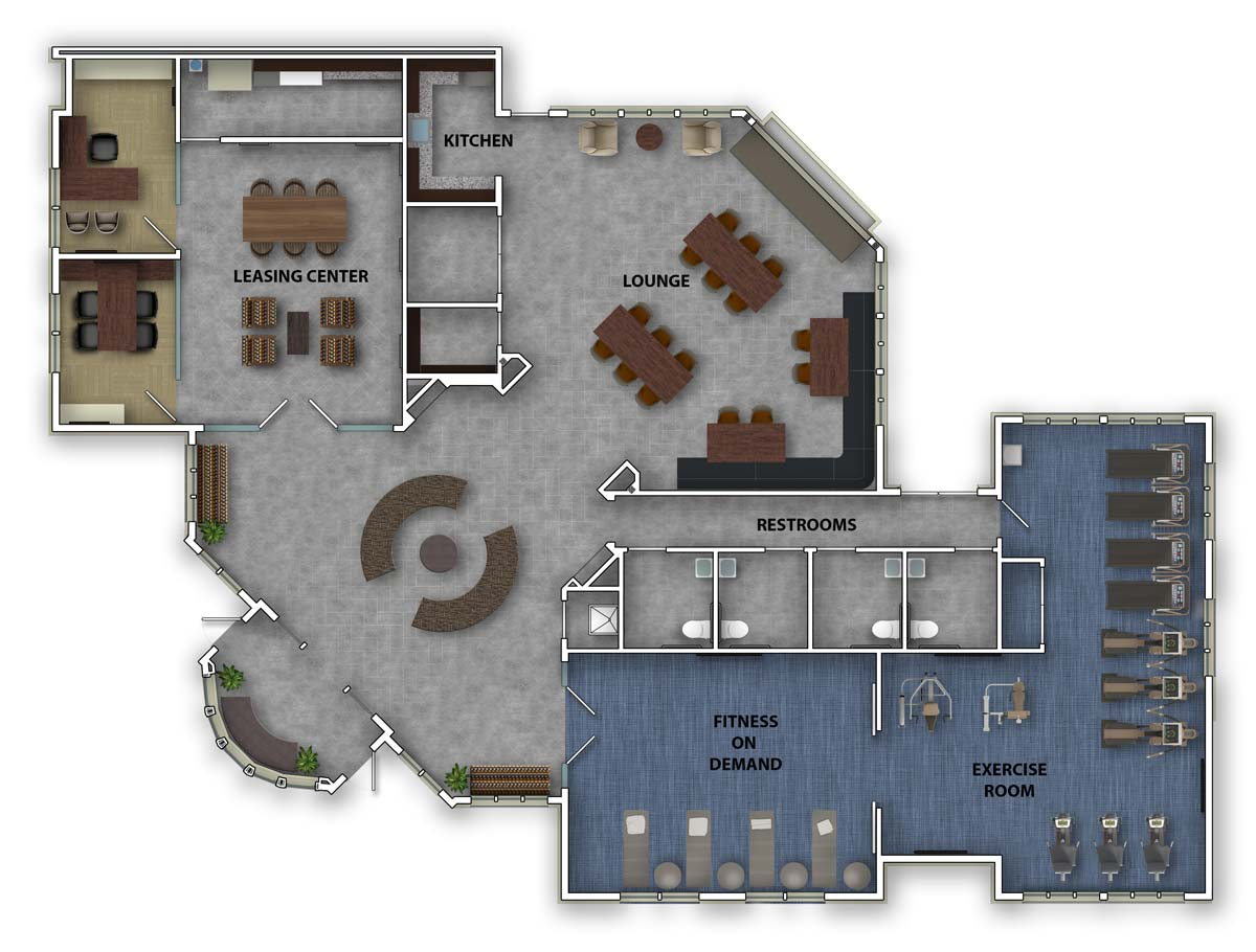 Sun Valley at Florham Park - Summit Club Floor Plan